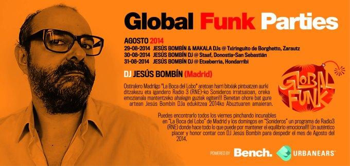 GLOBAL FUNK 2014 Agost